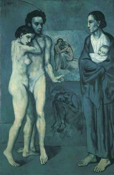 PabloPicasso-La-Vie-1903